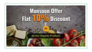 Monsoon Special Offers from The Organic Life