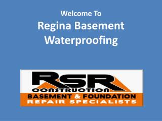 Regina Basement Waterproofing