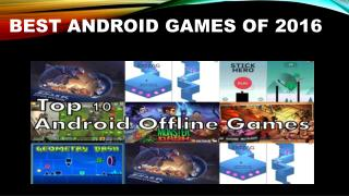 Let's welcome some more games to your Android phone
