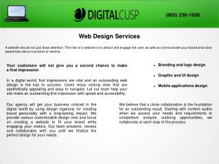 Website Design Knoxville TN