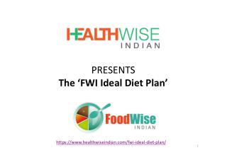 FWI Ideal Diet Plan