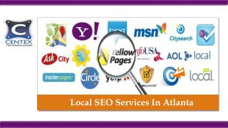 Local SEO Services In Atlanta