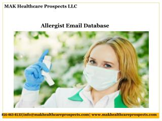 Allergist Email Database