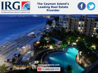 Real Estate Experts in the Cayman Islands