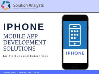 iPhone Mobile App Development Company India, Hire iPhone App Developers