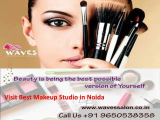 Visit best makeup studio in Noida- WAVES
