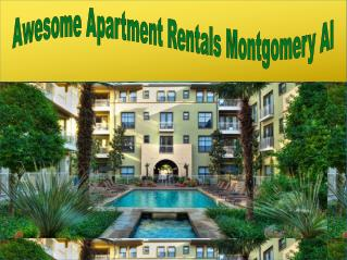 Get Best Apartments For Rent Montgomery Al