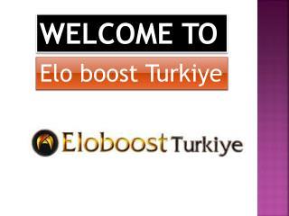 Elo Boost Turkiye
