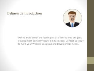 Website Designing and Development company in Delhi|NCR:Defineart