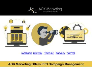 AOK Marketing Offers PPC Campaign Management