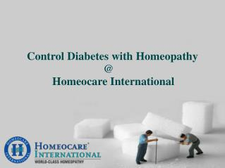 Restore your Diabetes health with homeopathy