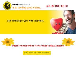 Interflora best Online Flower Shop In New Zealand
