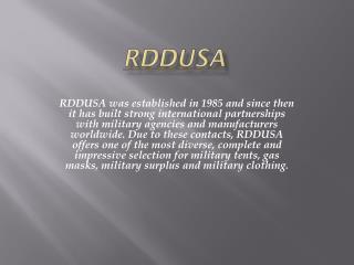 RDDUSA