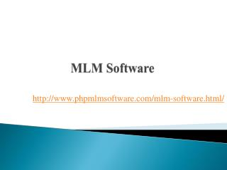 MLM Companies in India, MLM Software