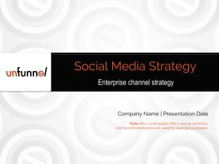 Enterprise Social Media Strategy (free marketing template)