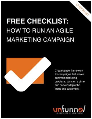 Agile Marketing Campaign Checklist