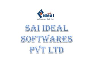 Sai Ideal Softwares (p) ltd