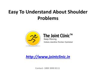 Easy To Understand About Shoulder Problems