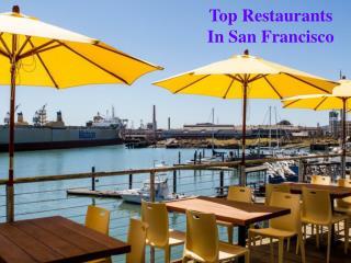 Top Restaurants In San Francisco