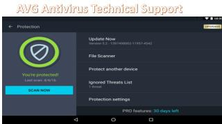 Avg Antivirus mobile virus remove any time any where