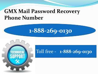 GMX Technical Support 1-888-269-0130 Phone Number