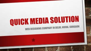 Web Designing Company in Gurgaon, Delhi, Noida