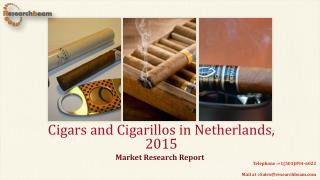Cigars and Cigarillos in Netherlands, 2015