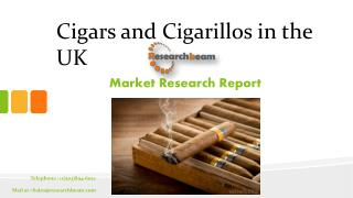 """Cigars and Cigarillos in the UK"", is an analytical report by Canadean which provides extensive and highly detailed curr"