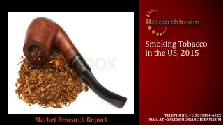Smoking Tobacco in USA, is an analytical report by Canadean which provides extensive and highly detailed current and fut