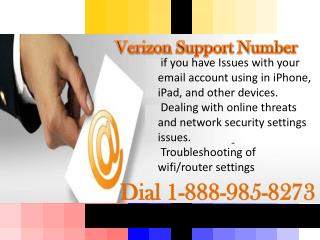 verizon support number 8889858273