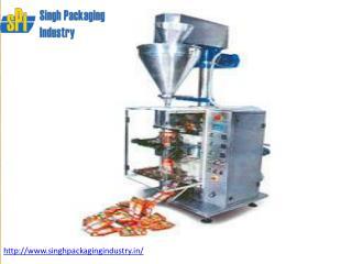 Tea, Namkeen, Soap, Liquid ,Pouch Packing Machine & Machinery  in India