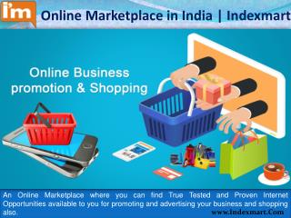 Online Marketplace in India for Online Business promotion and services
