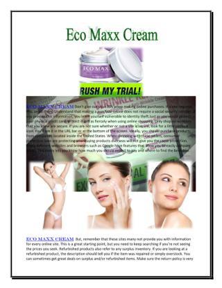 http://www.wecareskincare.com/eco-maxx-cream/