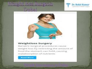 Bariatric surgery in Dubai