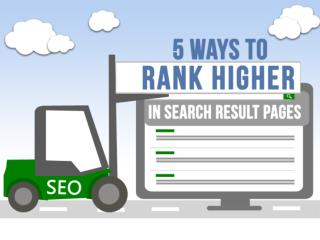 5 Ways To Rank Higher In Search Result Pages