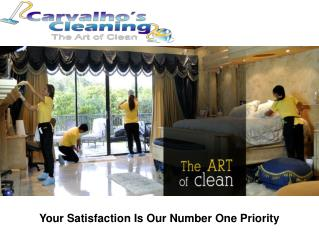 Carvalho's Cleaning- Keep Your Office Neat and Clean