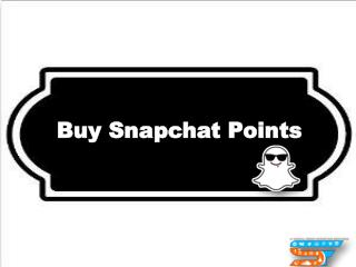 Make your Profile Grow by Buy Snapchat Points