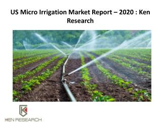 Irrigation Systems Market, smart irrigation system trend