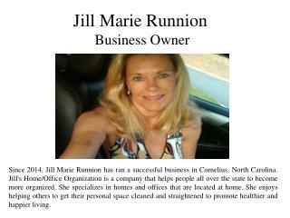 Jill Marie Runnion - Business Owner