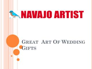 Great  Art Of Wedding Gifts