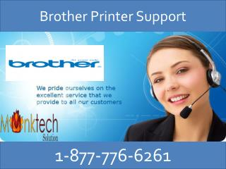Get excellent resolution via Brother Printer Support @1-877-776-6261