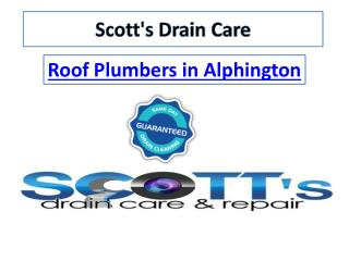 Roof Plumbers in Bulleen - Scottsdraincare