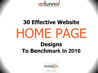 30 Website Homepage Designs to Benchmark in 2016