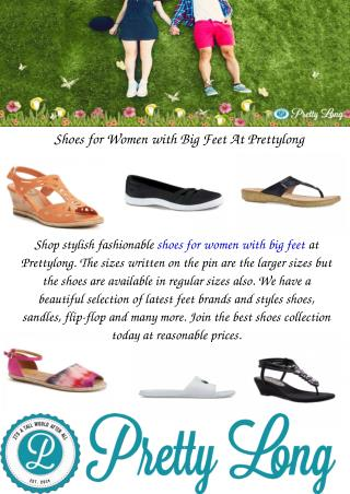 Shoes for Women with Big Feet