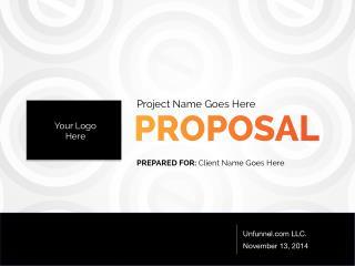 Partner Lead Generation Proposal Template