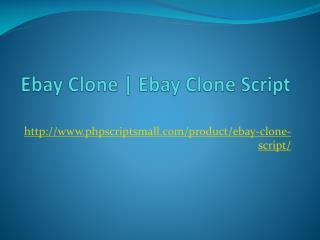 Ebay Clone | Ebay Clone Script