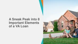 A Sneak Peak into 8 Important Elements