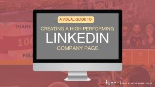 How to Create a LinkedIn Company Page that Converts [VISUAL GUIDE]