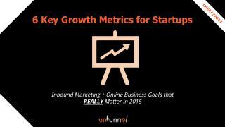 Marketing Analytics for Startups - 6 Growth Metrics that Matter