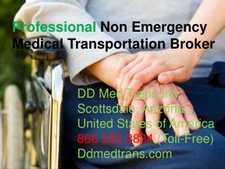 Professional Non Emergency Medical Transportation Broker